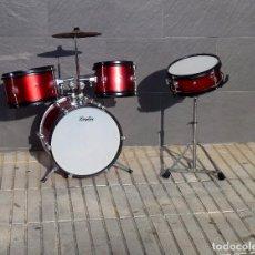 Instrumentos musicales: BATERIA PARA NIÑO DE LA MARCA LOGAN.75 CM.. Lote 205608257
