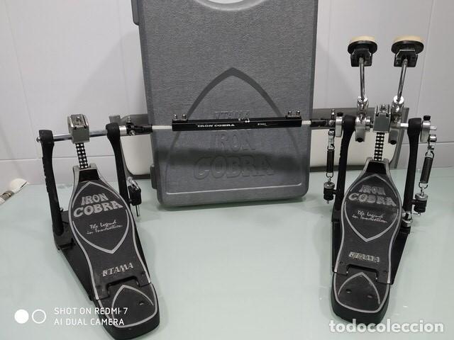 Instrumentos musicales: BATERÍA ELECTRÓNICA + PEDALERA DOBLE IRON COBRA - Foto 3 - 205688825