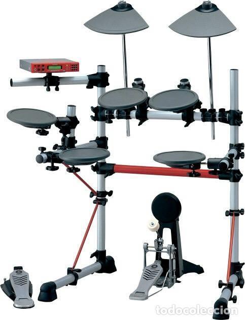 Instrumentos musicales: BATERÍA ELECTRÓNICA + PEDALERA DOBLE IRON COBRA - Foto 5 - 205688825