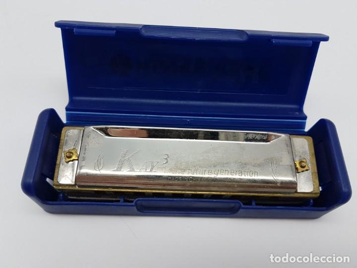 Instrumentos musicales: ARMONICA BLUES HARP CON ESTUCHE ( C ) GERMANY - Foto 3 - 205690643