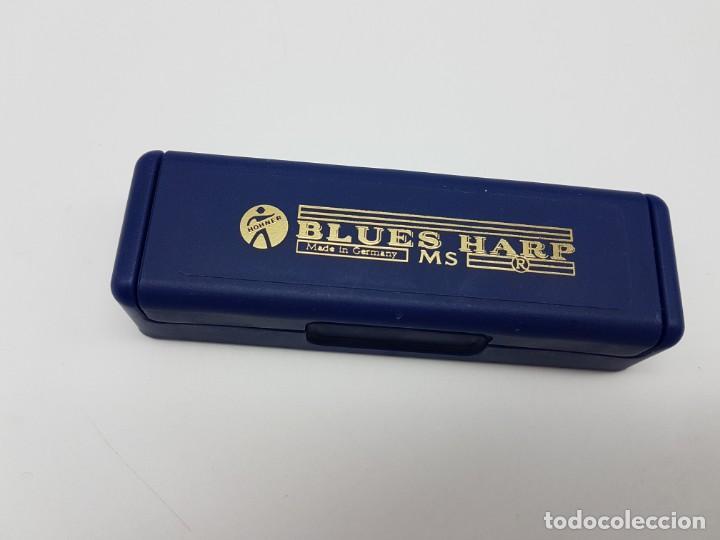 Instrumentos musicales: ARMONICA BLUES HARP CON ESTUCHE ( C ) GERMANY - Foto 5 - 205690643