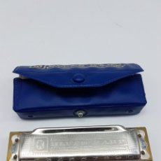 Instrumentos musicales: ARMONICA BLUES HARP HOHNER CON ESTUCHE ( D ) GERMANY. Lote 205692180