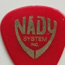 Instrumentos musicales: PÚA DE GUITARRA NADY SYSTEM INC 1000 AX. Lote 205736832