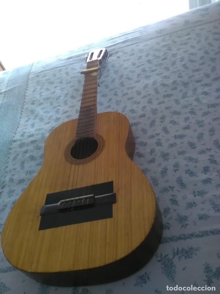 GUITARRA ESPAÑOLA FLAMENCA ANTIGUA, MUY BUEN ESTADO (Música - Instrumentos Musicales - Cuerda Antiguos)