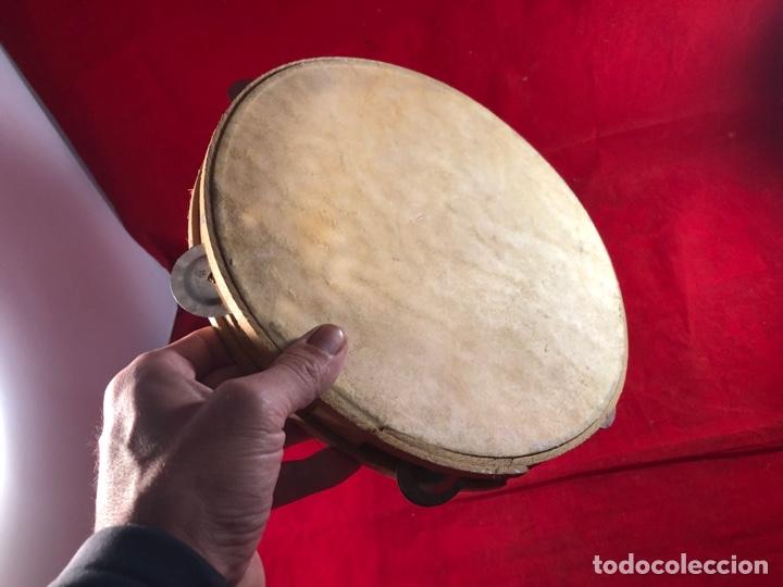 PANDERETA DE PIEL (Música - Instrumentos Musicales - Percusión)