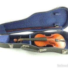 Instrumentos musicales: ANTIGUO VIOLÍN CON ARCO Y ESTUCHE ORIGINAL VINTAGE. Lote 205821347