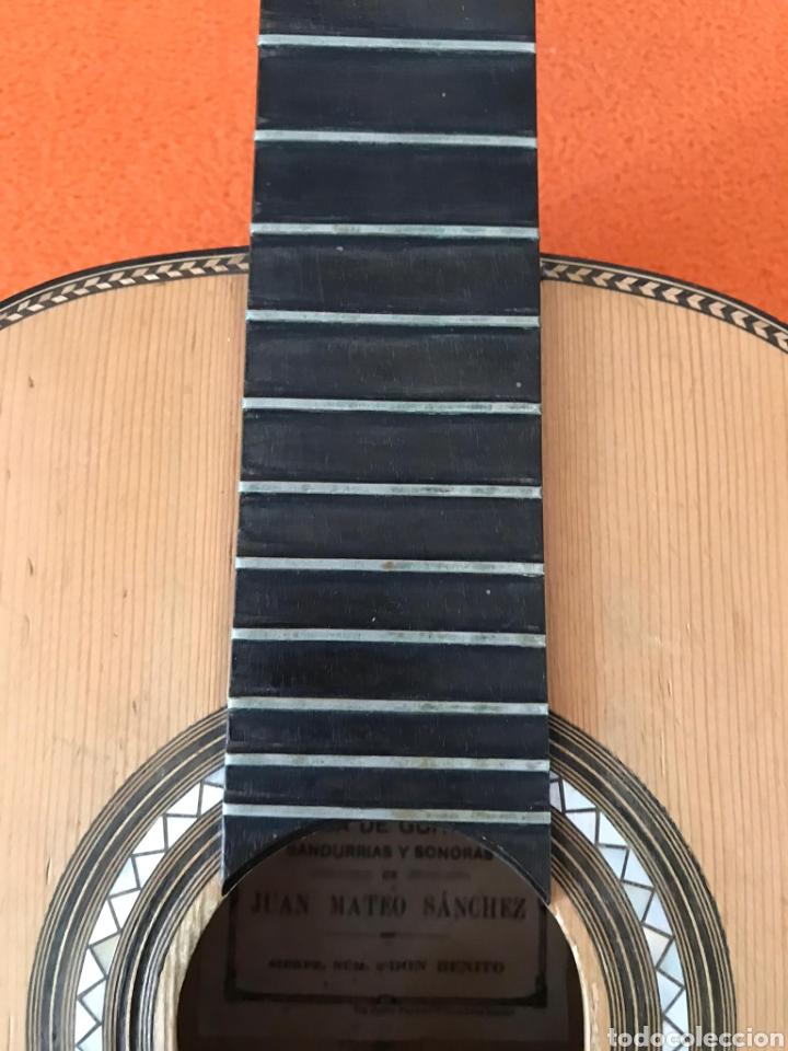Instrumentos musicales: Guítarra juan Mateo old guitar - Foto 3 - 205879437