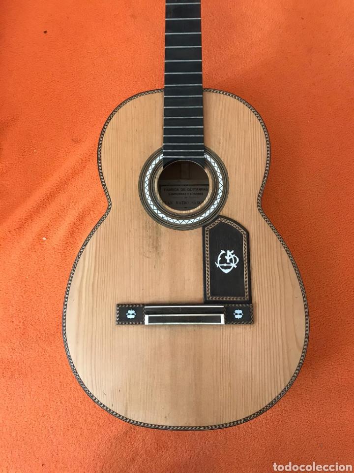 Instrumentos musicales: Guítarra juan Mateo old guitar - Foto 8 - 205879437