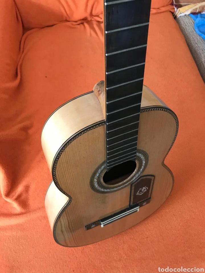 Instrumentos musicales: Guítarra juan Mateo old guitar - Foto 16 - 205879437