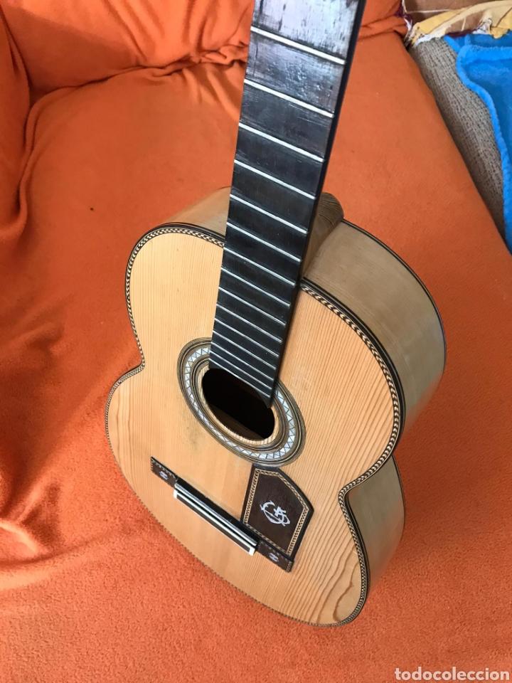 Instrumentos musicales: Guítarra juan Mateo old guitar - Foto 17 - 205879437