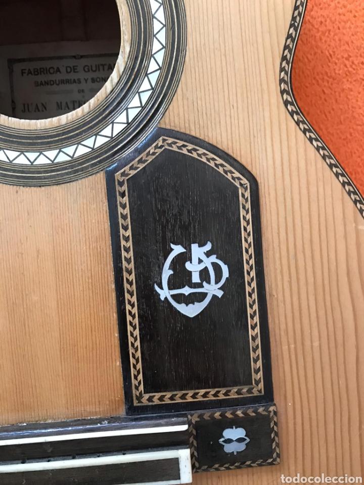 Instrumentos musicales: Guítarra juan Mateo old guitar - Foto 18 - 205879437