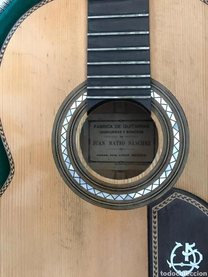Instrumentos musicales: Guítarra juan Mateo old guitar - Foto 19 - 205879437