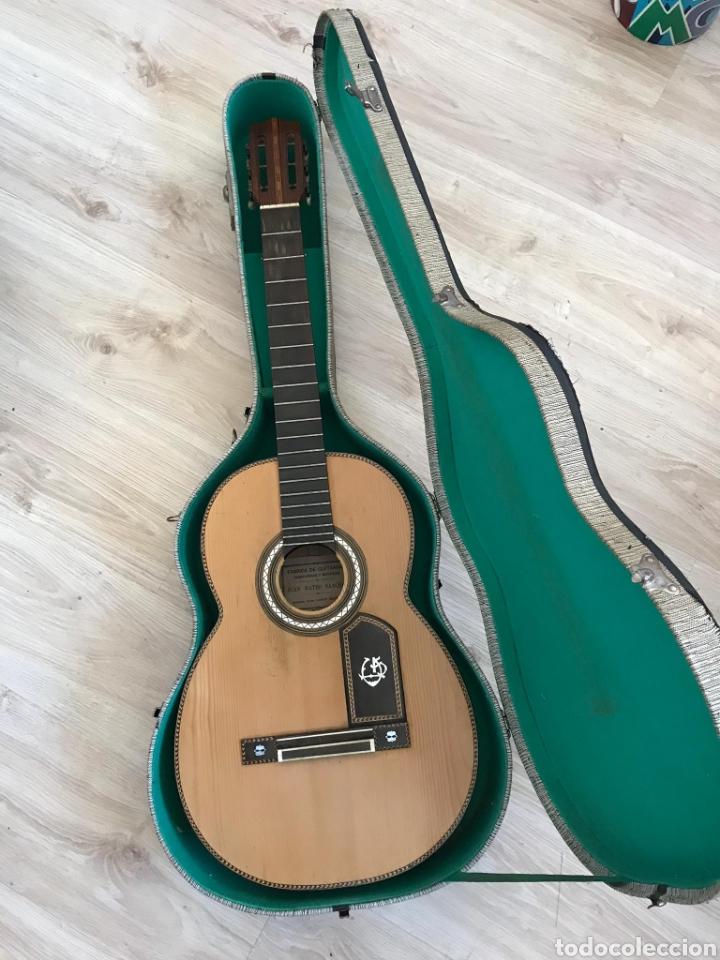 Instrumentos musicales: Guítarra juan Mateo old guitar - Foto 23 - 205879437