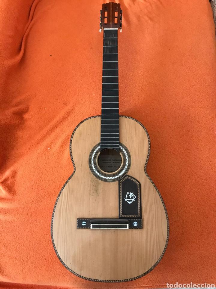 GUÍTARRA JUAN MATEO OLD GUITAR (Música - Instrumentos Musicales - Guitarras Antiguas)
