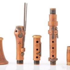 Instrumentos musicales: CLARINETE WOLF CINCO LLAVES. Lote 206321238