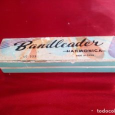 Instrumentos musicales: ANTIGUA ARMONICA BANDLEADER MADE IN CHINA.AÑOS 70,EN CAJA ORIGINAL. Lote 206392443