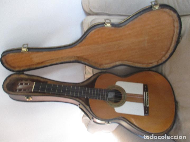 GUITARRA ANTIGUA MANUEL PEREZ PAEZ (Música - Instrumentos Musicales - Guitarras Antiguas)