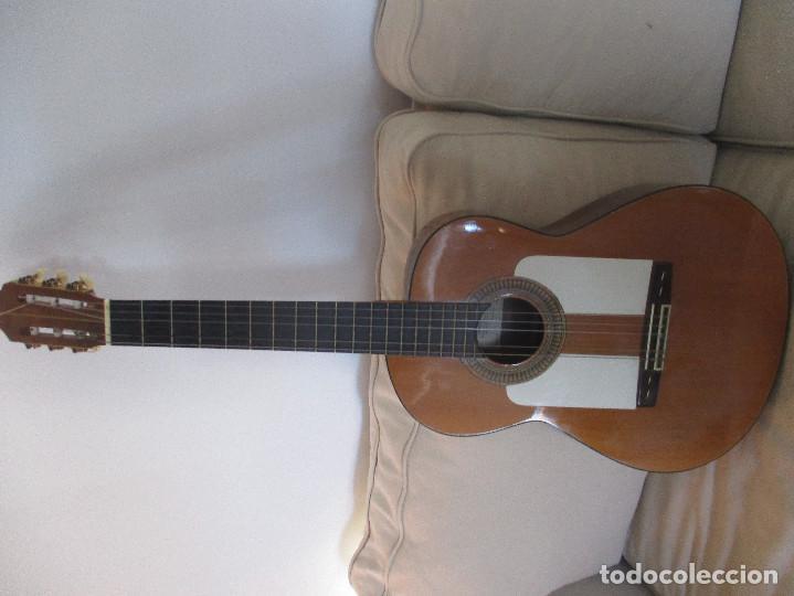 Instrumentos musicales: guitarra antigua Manuel Perez Paez - Foto 2 - 206447703