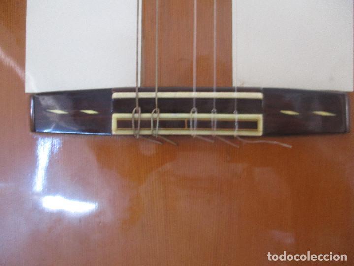 Instrumentos musicales: guitarra antigua Manuel Perez Paez - Foto 5 - 206447703