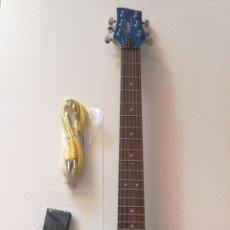 Instrumentos musicales: GUITARRA ELÉCTRICA DISEÑO REGALO CORREA Y CABLE GAINER - TECHNOLOGY U.S.A. Lote 206772168