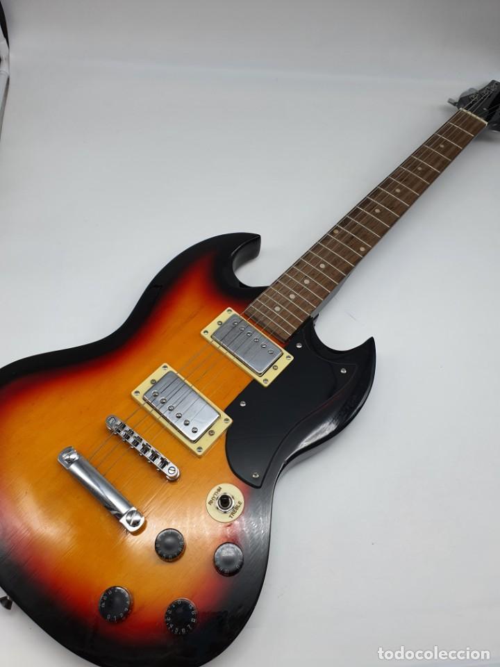 PRECIOSA GUITARRA ELÉCTRICA (Música - Instrumentos Musicales - Guitarras Antiguas)