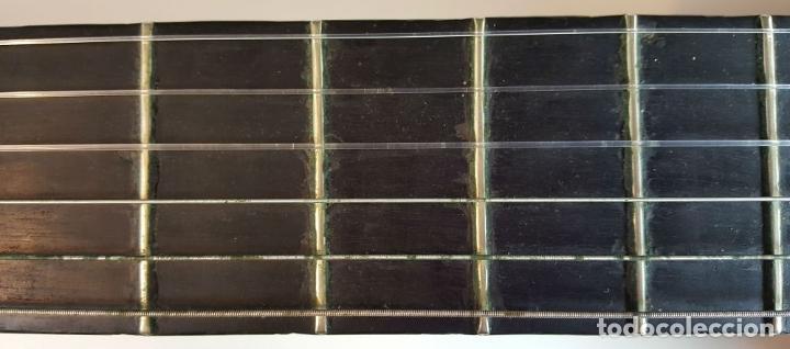 Instrumentos musicales: GUITARRA DE CONCIERTO. FRANCISCO MANUEL FLETA. BARCELONA. FABRICADA EN 1968. - Foto 2 - 206837113