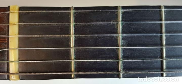 Instrumentos musicales: GUITARRA DE CONCIERTO. FRANCISCO MANUEL FLETA. BARCELONA. FABRICADA EN 1968. - Foto 3 - 206837113