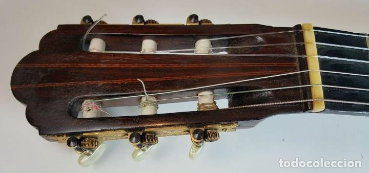Instrumentos musicales: GUITARRA DE CONCIERTO. FRANCISCO MANUEL FLETA. BARCELONA. FABRICADA EN 1968. - Foto 4 - 206837113