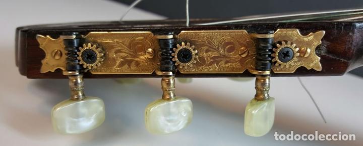 Instrumentos musicales: GUITARRA DE CONCIERTO. FRANCISCO MANUEL FLETA. BARCELONA. FABRICADA EN 1968. - Foto 5 - 206837113