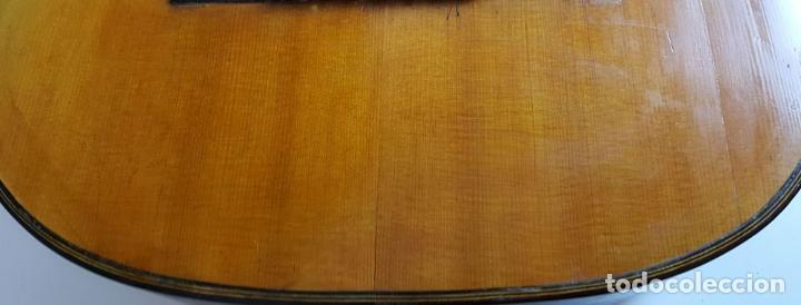 Instrumentos musicales: GUITARRA DE CONCIERTO. FRANCISCO MANUEL FLETA. BARCELONA. FABRICADA EN 1968. - Foto 8 - 206837113