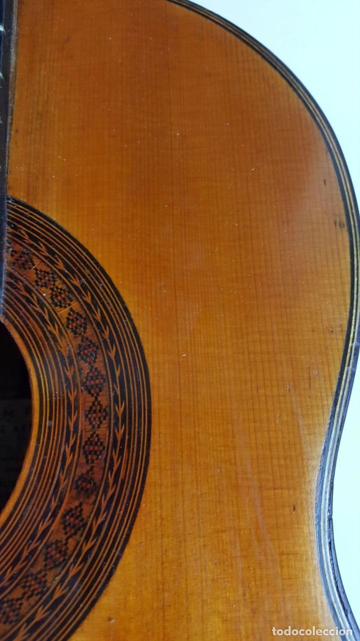 Instrumentos musicales: GUITARRA DE CONCIERTO. FRANCISCO MANUEL FLETA. BARCELONA. FABRICADA EN 1968. - Foto 10 - 206837113