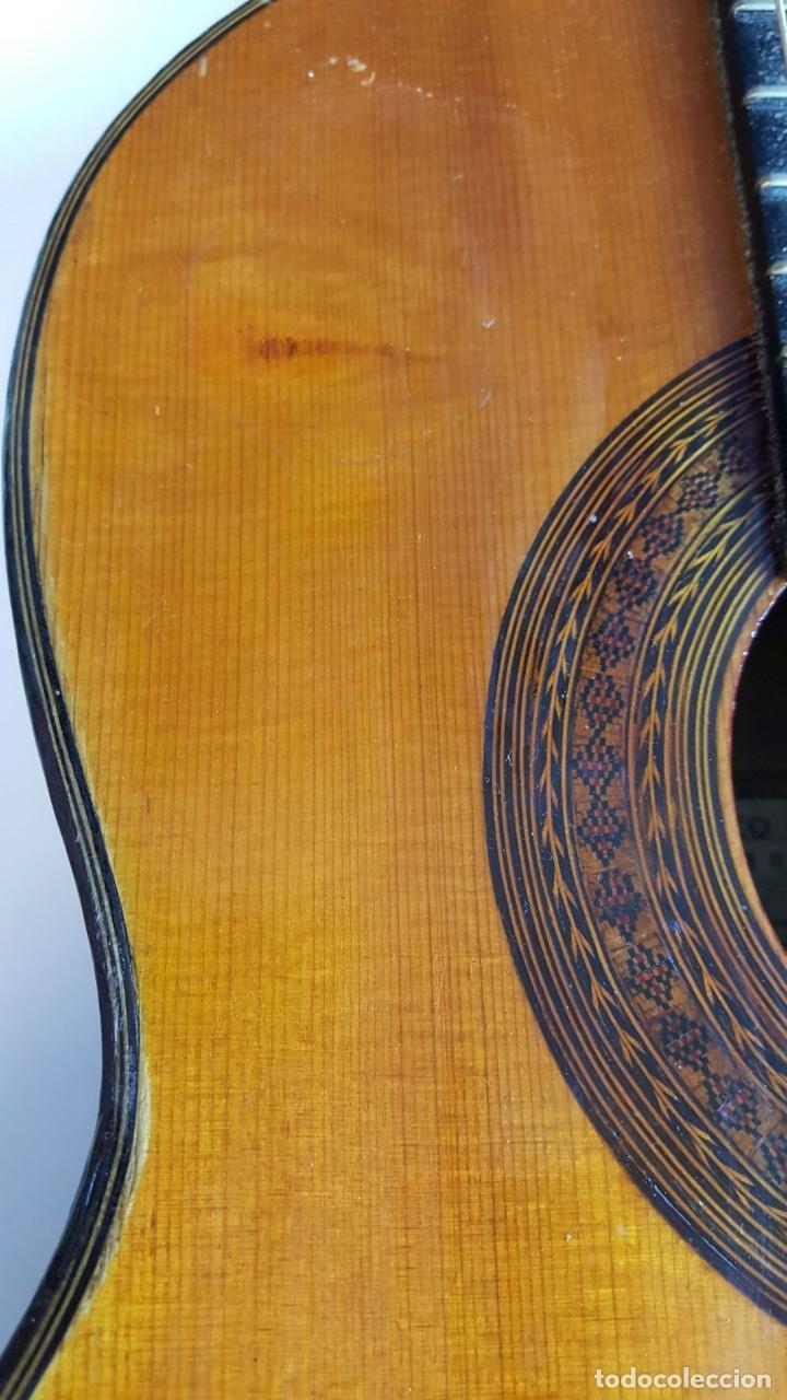 Instrumentos musicales: GUITARRA DE CONCIERTO. FRANCISCO MANUEL FLETA. BARCELONA. FABRICADA EN 1968. - Foto 12 - 206837113