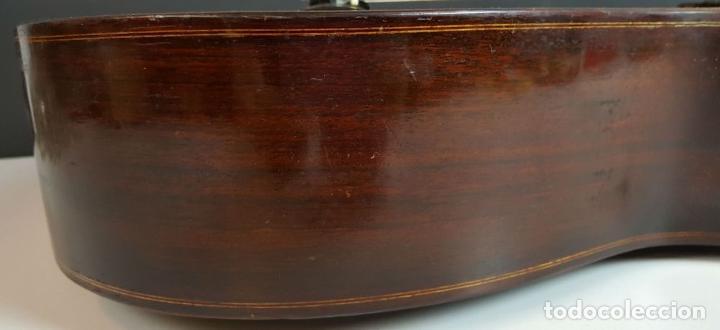 Instrumentos musicales: GUITARRA DE CONCIERTO. FRANCISCO MANUEL FLETA. BARCELONA. FABRICADA EN 1968. - Foto 13 - 206837113