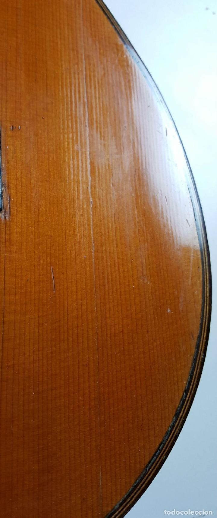 Instrumentos musicales: GUITARRA DE CONCIERTO. FRANCISCO MANUEL FLETA. BARCELONA. FABRICADA EN 1968. - Foto 14 - 206837113