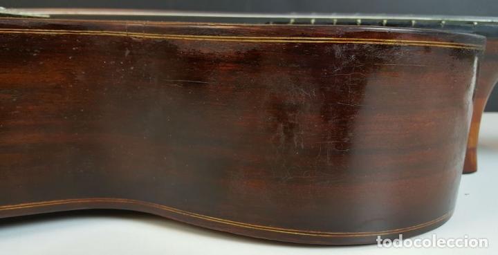Instrumentos musicales: GUITARRA DE CONCIERTO. FRANCISCO MANUEL FLETA. BARCELONA. FABRICADA EN 1968. - Foto 15 - 206837113