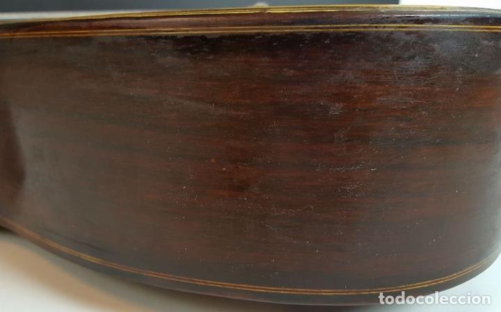 Instrumentos musicales: GUITARRA DE CONCIERTO. FRANCISCO MANUEL FLETA. BARCELONA. FABRICADA EN 1968. - Foto 17 - 206837113