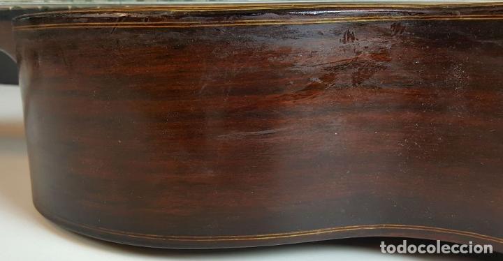 Instrumentos musicales: GUITARRA DE CONCIERTO. FRANCISCO MANUEL FLETA. BARCELONA. FABRICADA EN 1968. - Foto 18 - 206837113