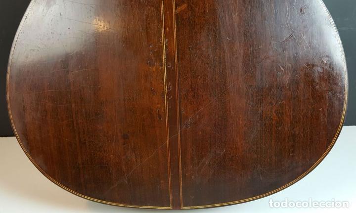 Instrumentos musicales: GUITARRA DE CONCIERTO. FRANCISCO MANUEL FLETA. BARCELONA. FABRICADA EN 1968. - Foto 23 - 206837113