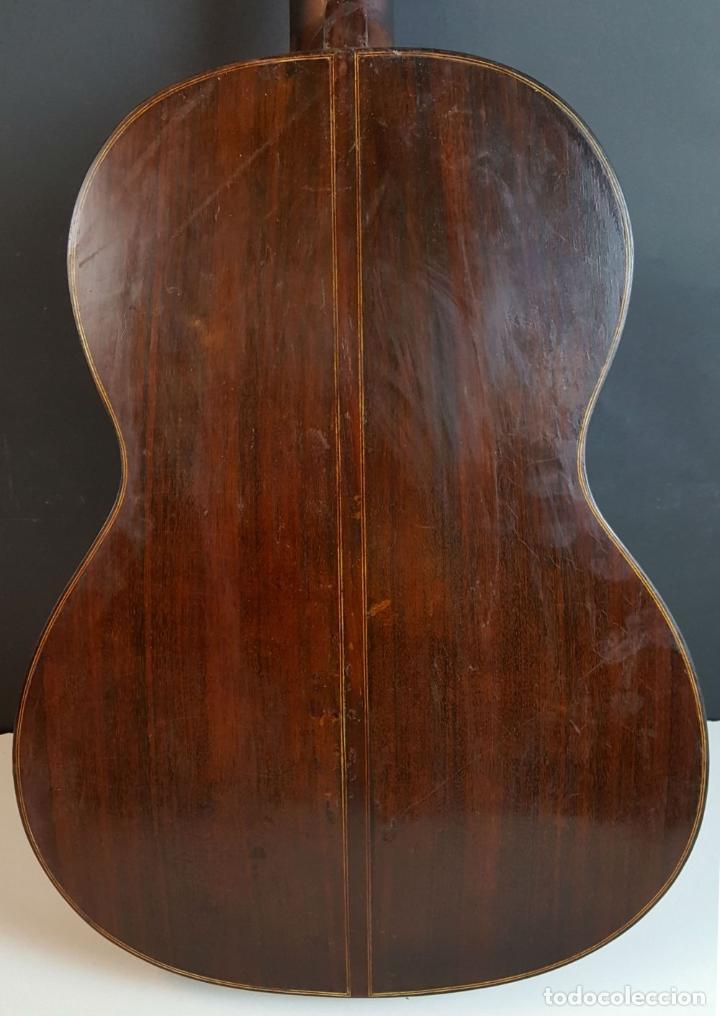Instrumentos musicales: GUITARRA DE CONCIERTO. FRANCISCO MANUEL FLETA. BARCELONA. FABRICADA EN 1968. - Foto 25 - 206837113