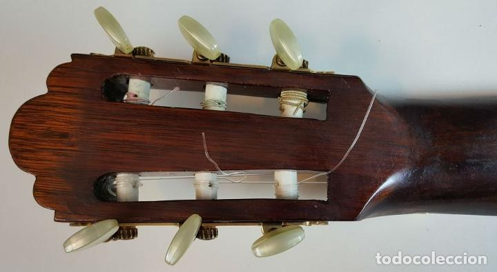 Instrumentos musicales: GUITARRA DE CONCIERTO. FRANCISCO MANUEL FLETA. BARCELONA. FABRICADA EN 1968. - Foto 26 - 206837113