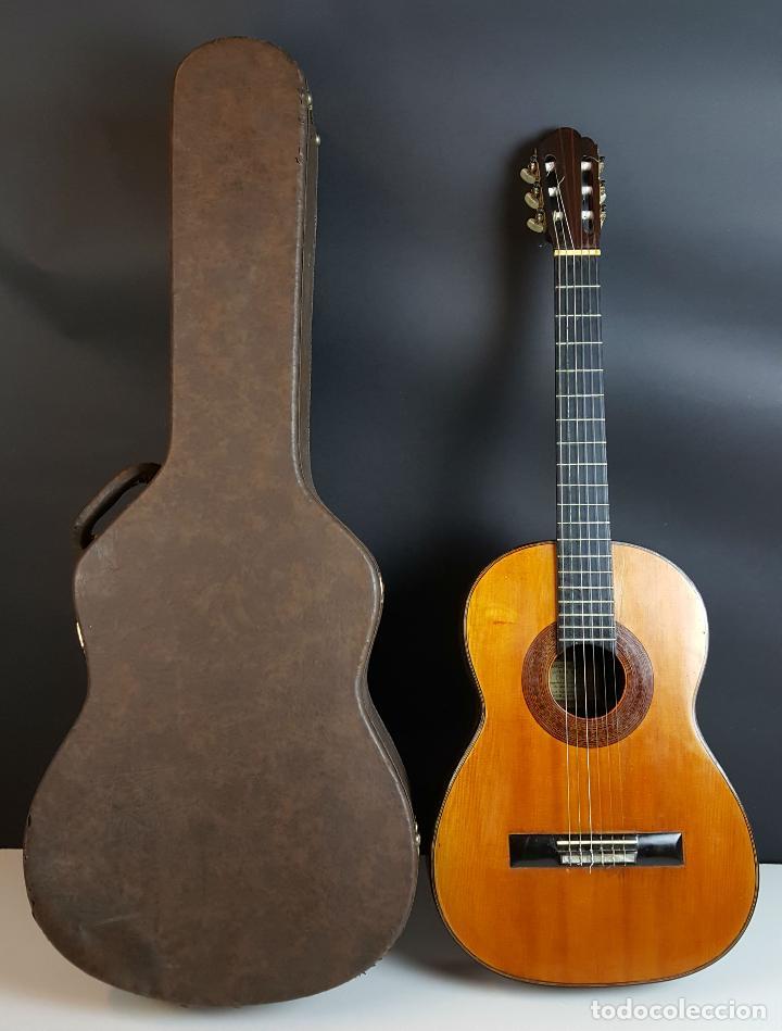 GUITARRA DE CONCIERTO. FRANCISCO MANUEL FLETA. BARCELONA. FABRICADA EN 1968. (Música - Instrumentos Musicales - Guitarras Antiguas)