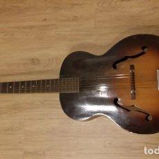 Instrumentos musicales: VENDO GUITARRA ACÚSTICA SILVERTONE, VINTAGE (AÑOS 50 USA) HOLLOWBODY.. Lote 207015861