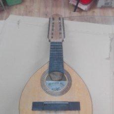 Instrumentos musicales: ANTIGUA BANDURRIA DE MARIANO BIU DE ZARAGOZA PARA ARREGLAR, PIEZAS ... Lote 207017672