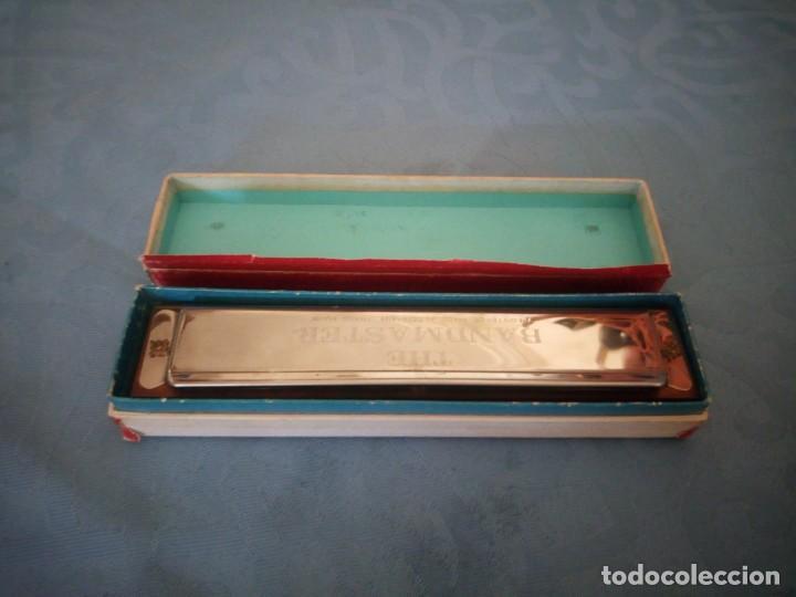 Instrumentos musicales: antigua armónica bandmaster made in germany,en caja original. - Foto 3 - 207238718