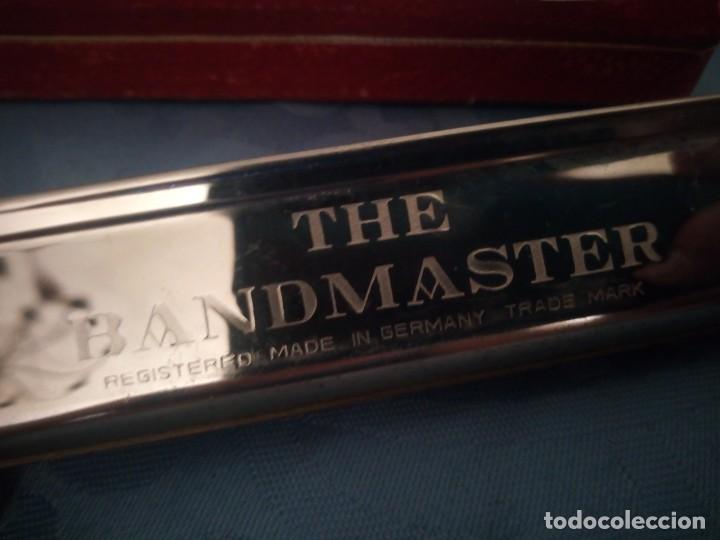 Instrumentos musicales: antigua armónica bandmaster made in germany,en caja original. - Foto 4 - 207238718