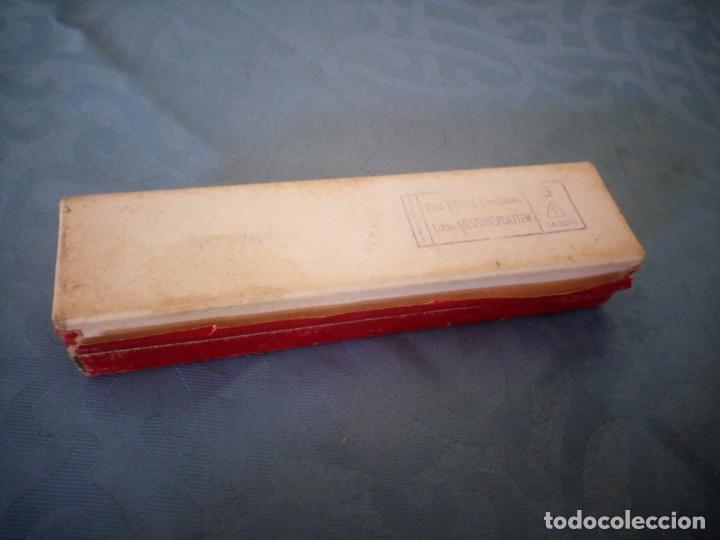 Instrumentos musicales: antigua armónica bandmaster made in germany,en caja original. - Foto 7 - 207238718