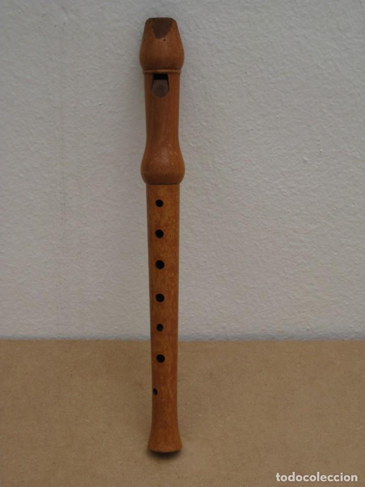 FLAUTA DULCE DE MADERA. (Música - Instrumentos Musicales - Viento Madera)