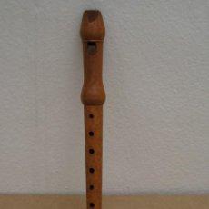 Instrumentos musicales: FLAUTA DULCE DE MADERA.. Lote 208041975