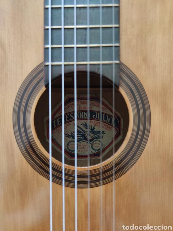 Instrumentos musicales: Guitarra antigua telesforo julve old guitar - Foto 2 - 208137783