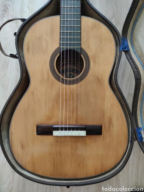 Instrumentos musicales: Guitarra antigua telesforo julve old guitar - Foto 3 - 208137783